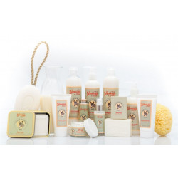 Gama de produtos  de leite de burra